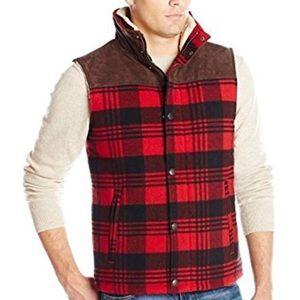 Lucky brand men's size small buffalo check vest